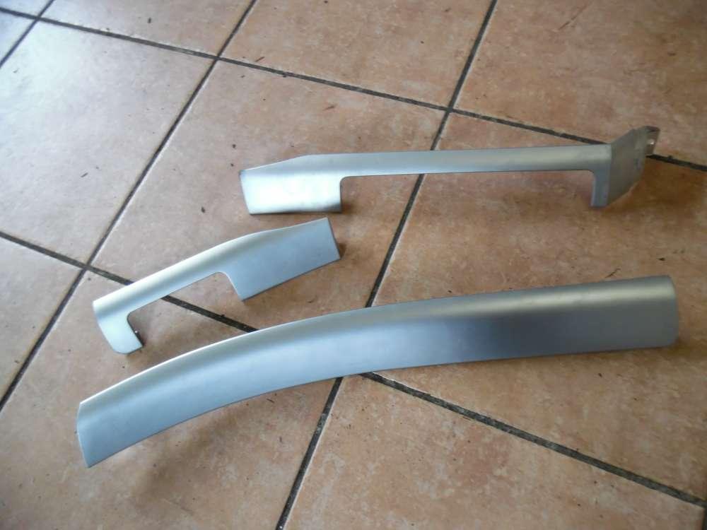 BMW E46 Interieurleiste Dekorleiste Silber 8196102-103-101