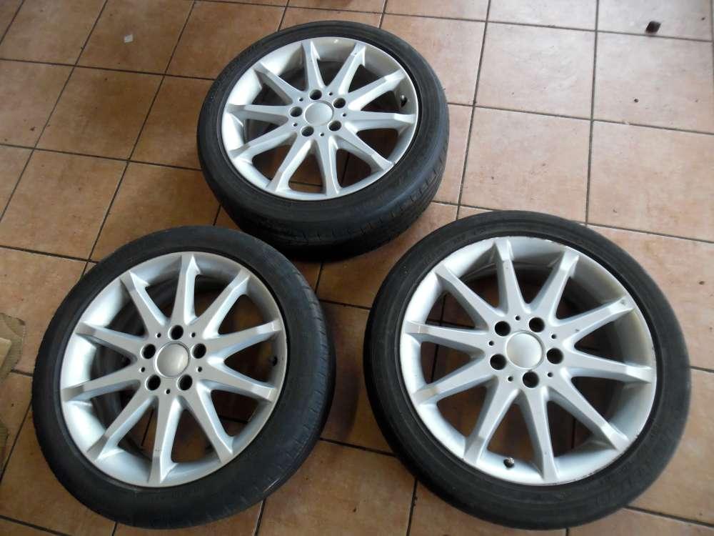 3x Alufelge ohne Reifen für Mercedes W169 7Jx17 ET49  A1694010702