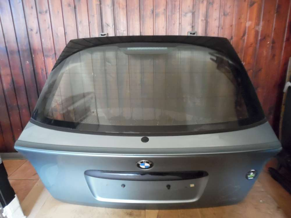 BMW E46 316ti Heckklappe Heckdeckel Graugrün Farbcod : 442/6
