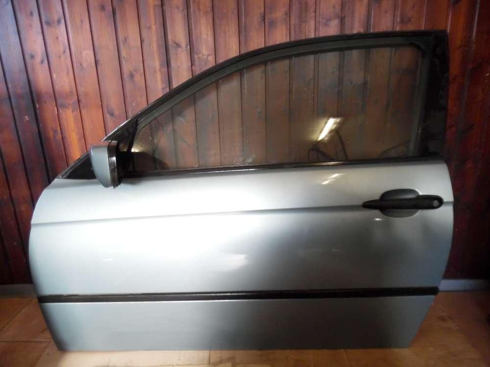 BMW E46 316ti Tür Vorne Links Graugrün Farbcod : 442/6