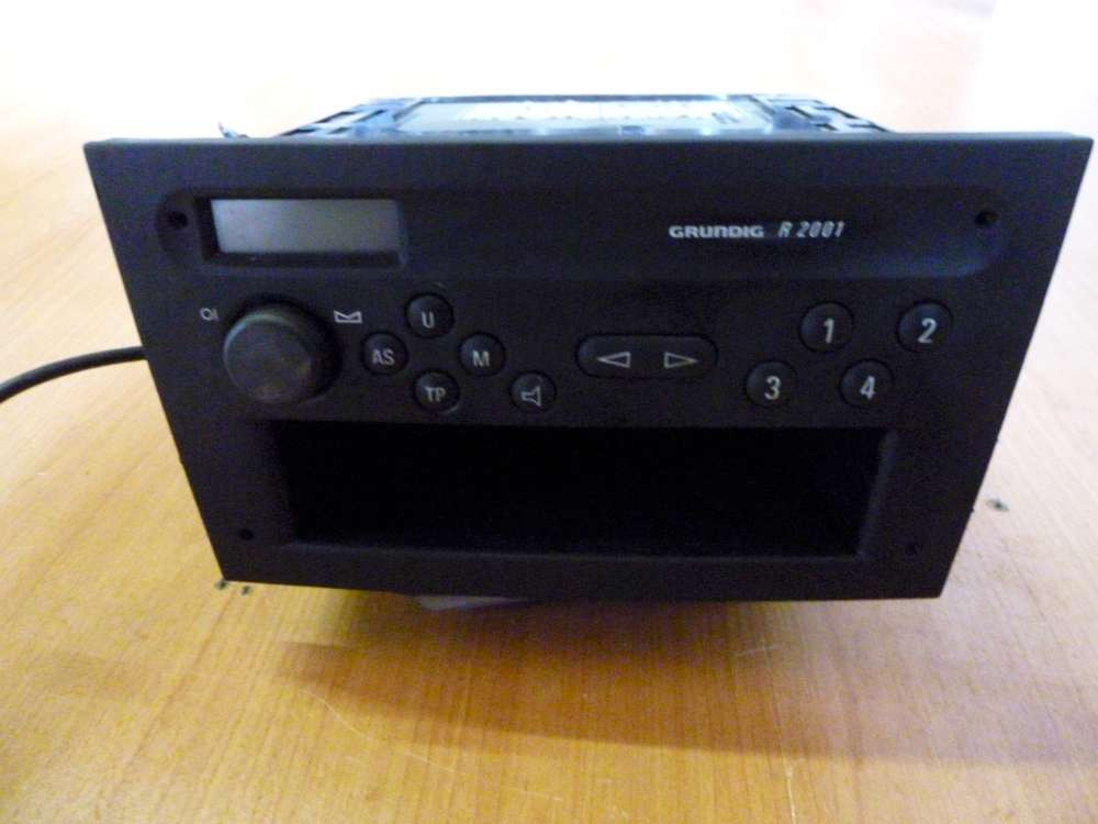 Autoradio Opel Agila Bj:2004 Original Vorne Blaupunkt Kassette 354686