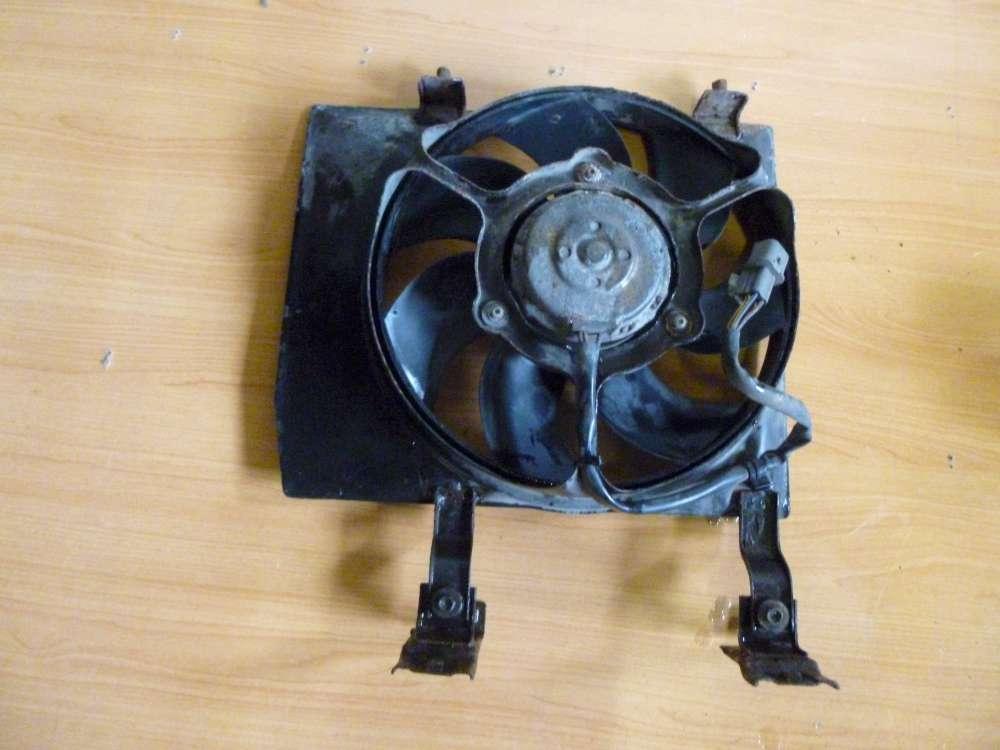Opel Agila Bj:2004 Lüfter Kühlerlüfter Lüftermotor