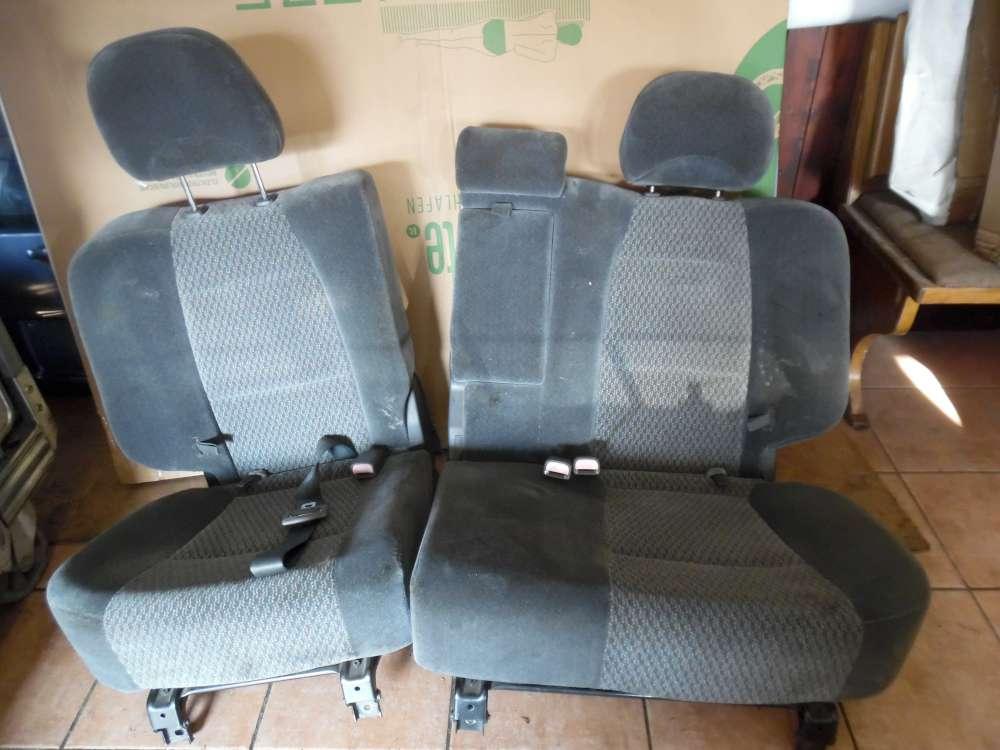 Hyundai Santa Fe Sitze Rücksitzbank Stoff grau