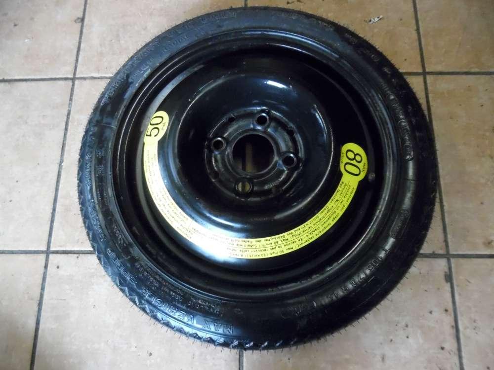 Seat Ibiza II 6K Ersatzrad Notrad Reserverad T105/70R14  3.5Jx14 ET38 1L0601025D