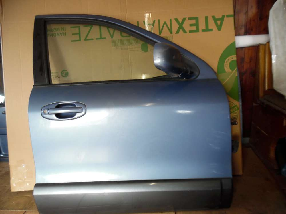 Hyundai Santa Fe Tür Vorne Rechts Blau met Farbcode : QX