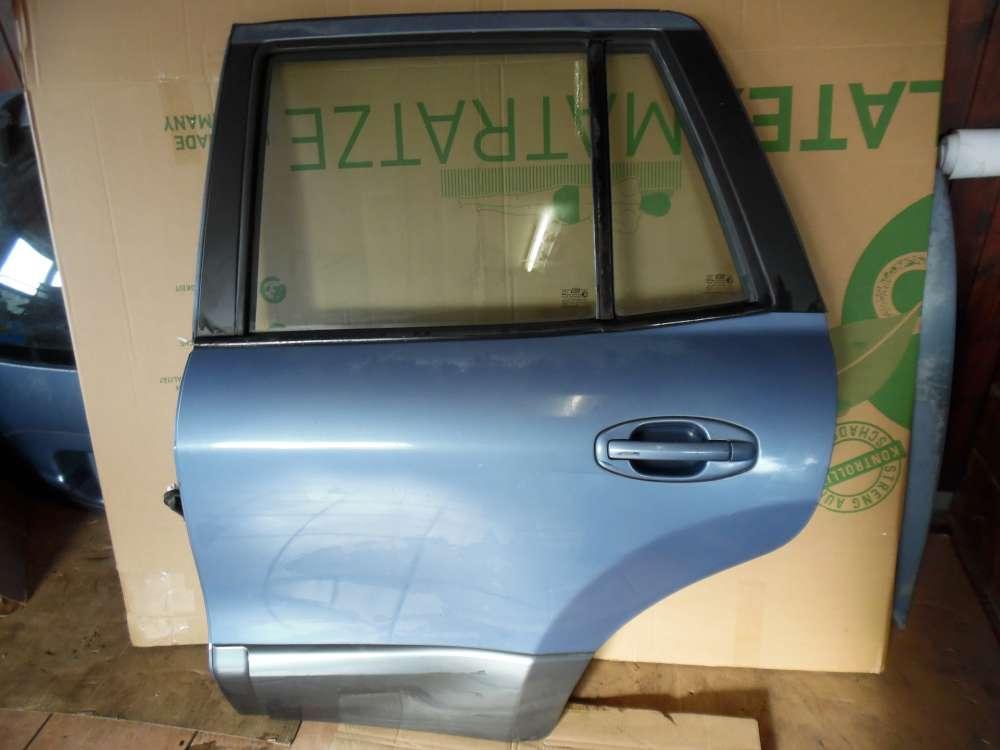 Hyundai Santa Fe Tür Hinten Links Blau met Farbcode : QX