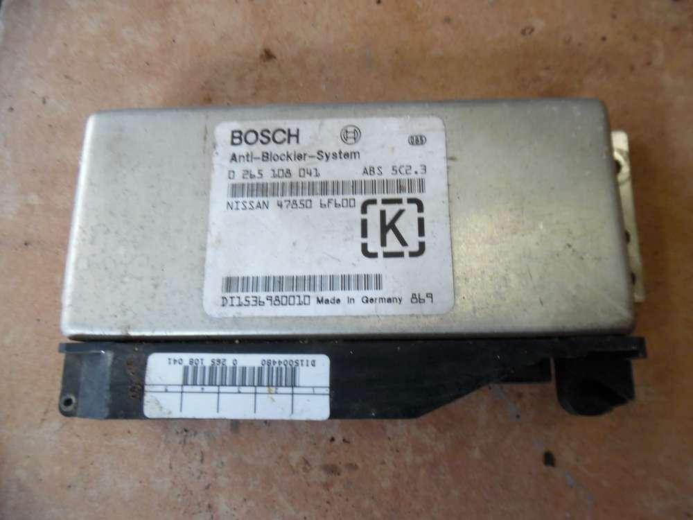 Nissan Micra II K11 ABS Steuergerät 47850 6F600 Bosch 0265108041