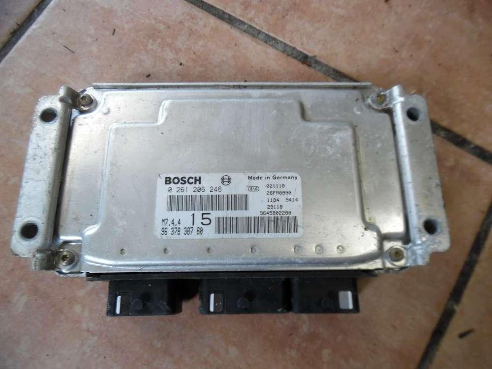 Peugeot 108, Citroen Saxo Motorsteuergerät SET 9645802280 9637838780 Bosch 0261206246