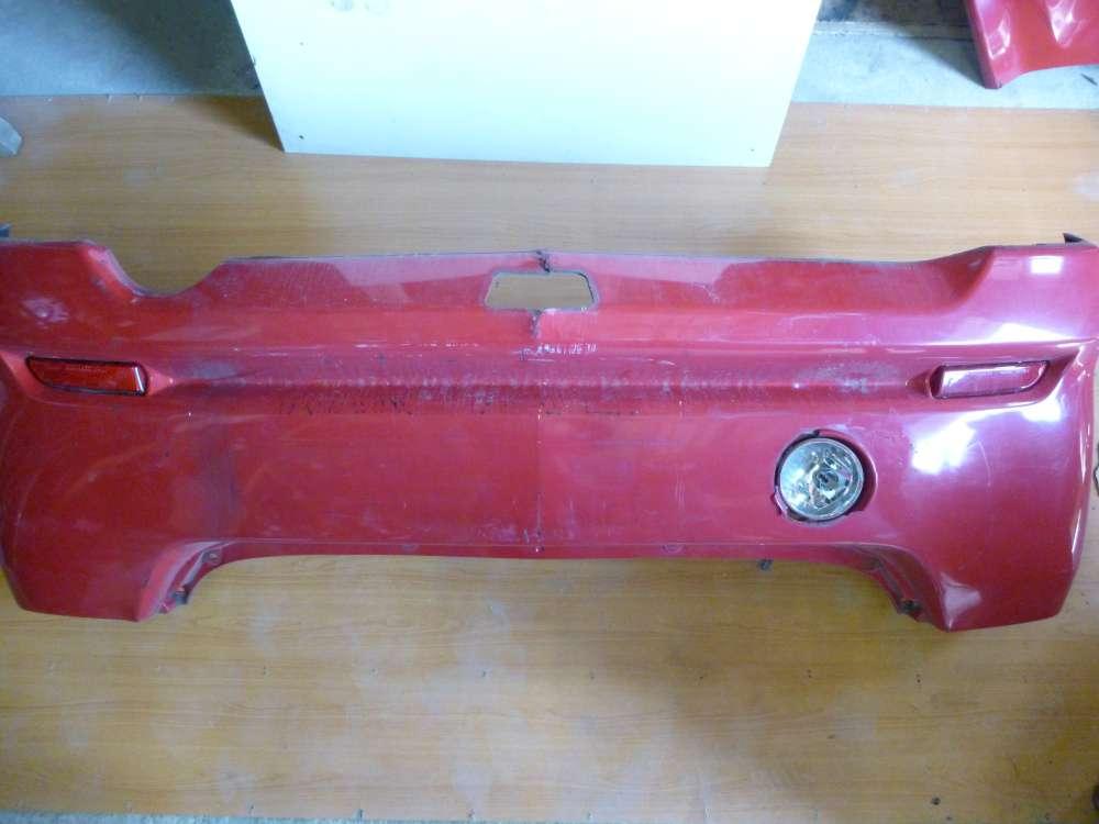 Daihatsu YRV Bj 2002 Stoßstange Stossfänger Hinten Rot