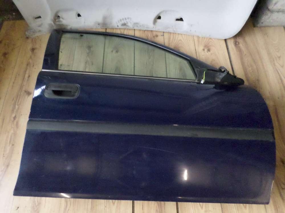 Opel Vectra B Kombi Tür Vorne Rechts Dunkelblau Farbcode: Y269