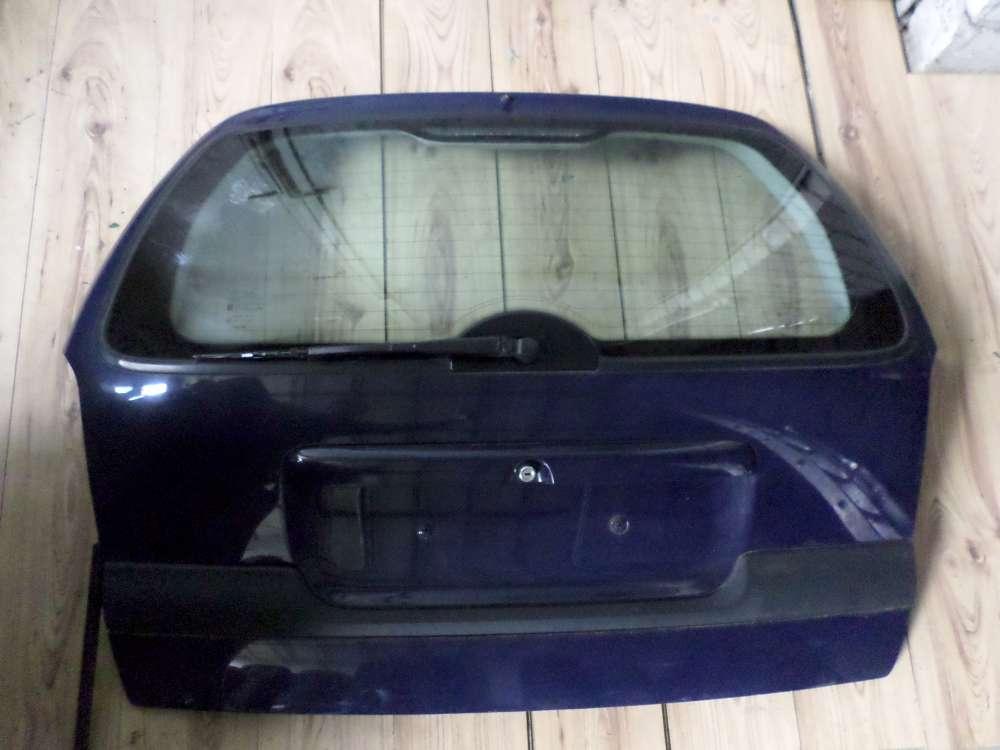 Opel Vectra B Caravan Kombi Bj 1998 Heckklappe Farbe Dunkelblau