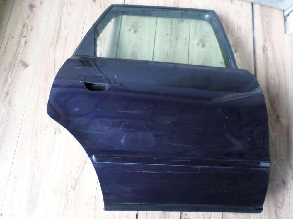 Audi A4 8D5 B5 Kombi Bj 1998 Tür Hinten Rechts Farbe: Dunkelblau
