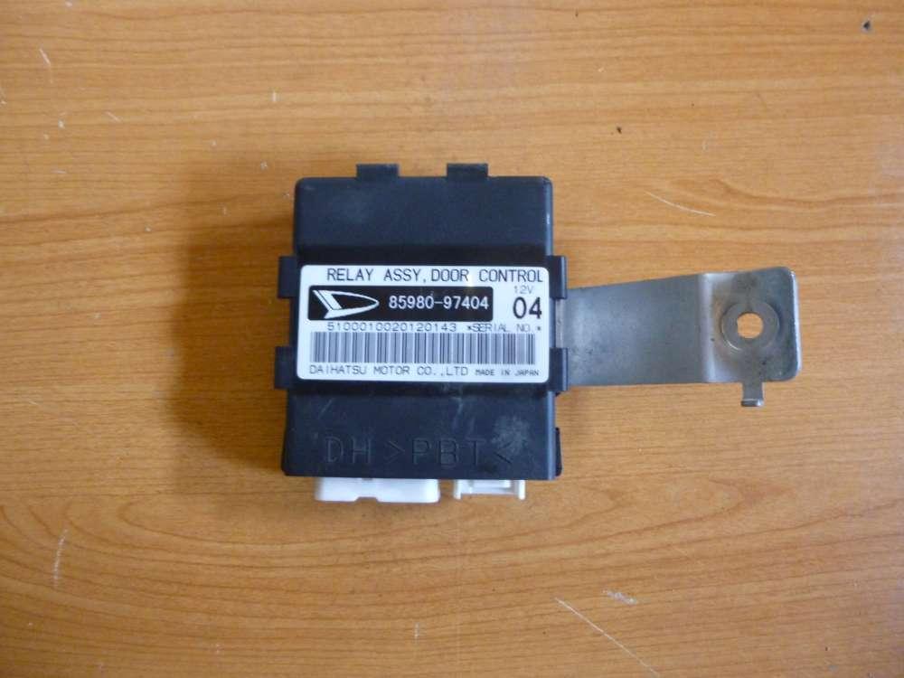 Daihatsu YRV Steuerteil SteuergerätZentralverriegelung ZV 85980-97404