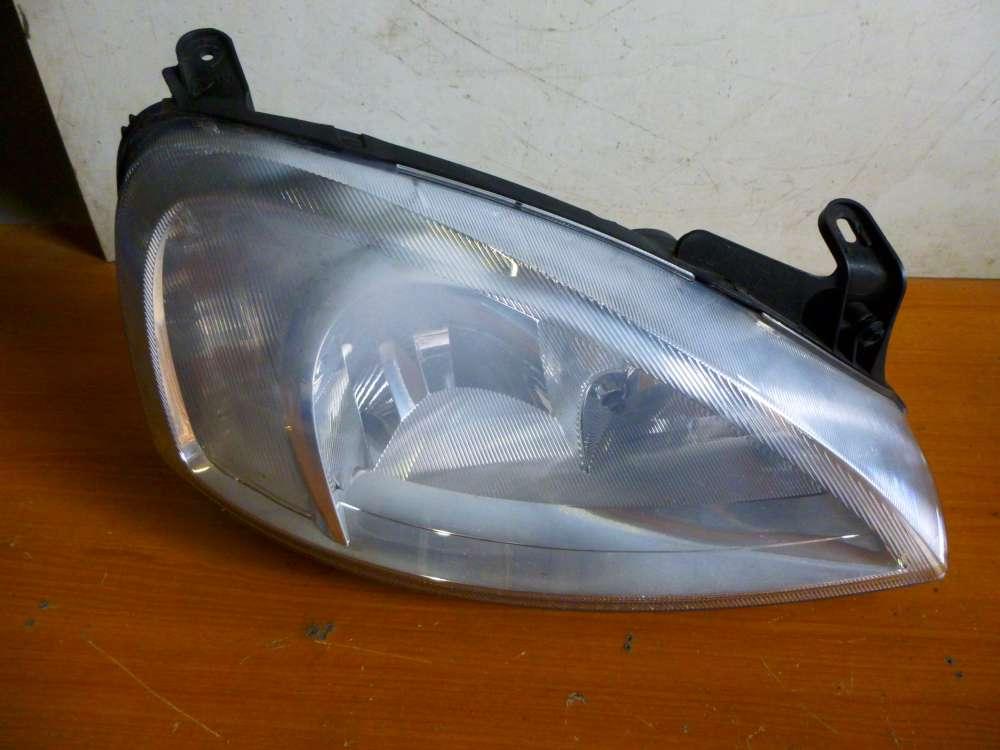Opel Corsa C Bj 2001 Scheinwerfer Rechts 09115048 RH  0301172202