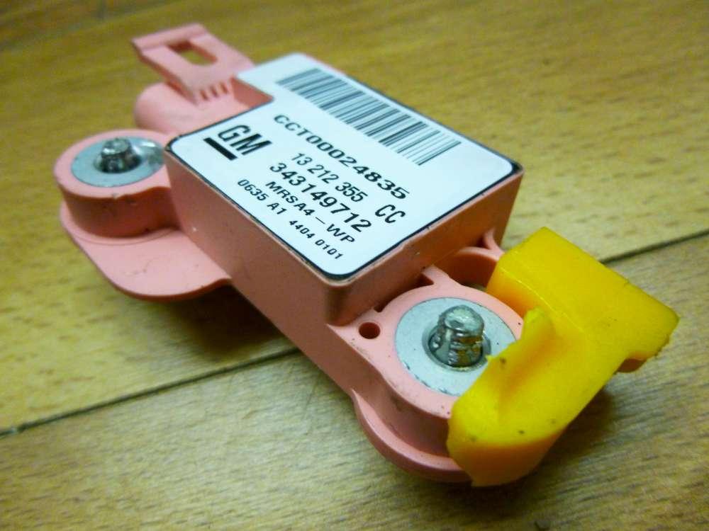 Opel Corsa C Airbagsensor 343149712 13212355CC