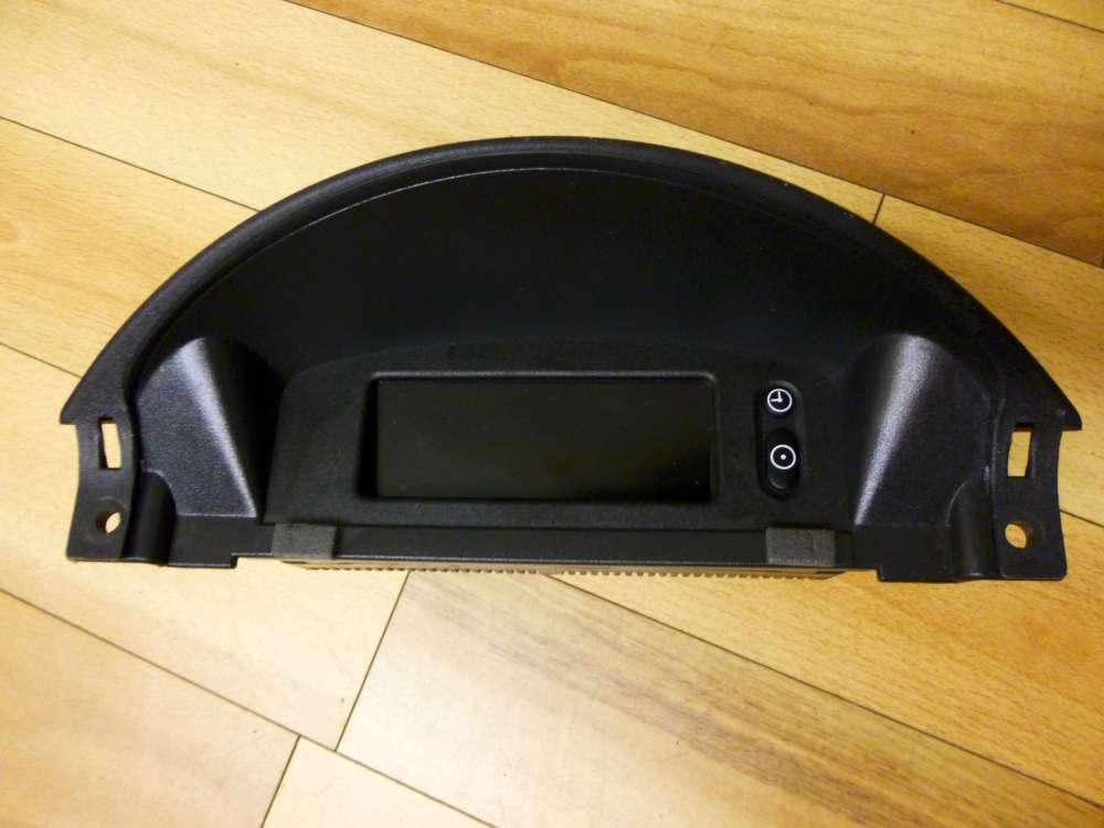 Opel Corsa C Bordcomputer Anzeige Display Uhr Original 1,0 44KW Bj05 13156841
