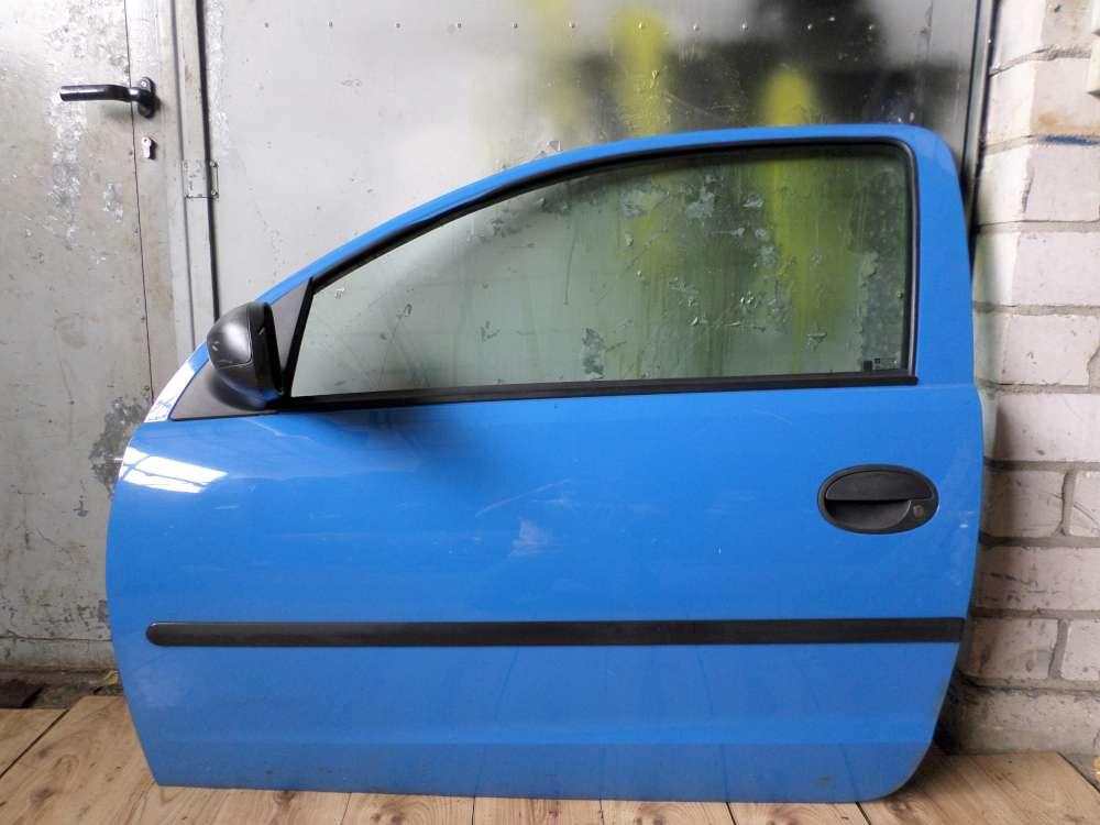 Opel Corsa C Bj 2001 Tür vorne Links 3-Türen Farbcode: Z20A Blau