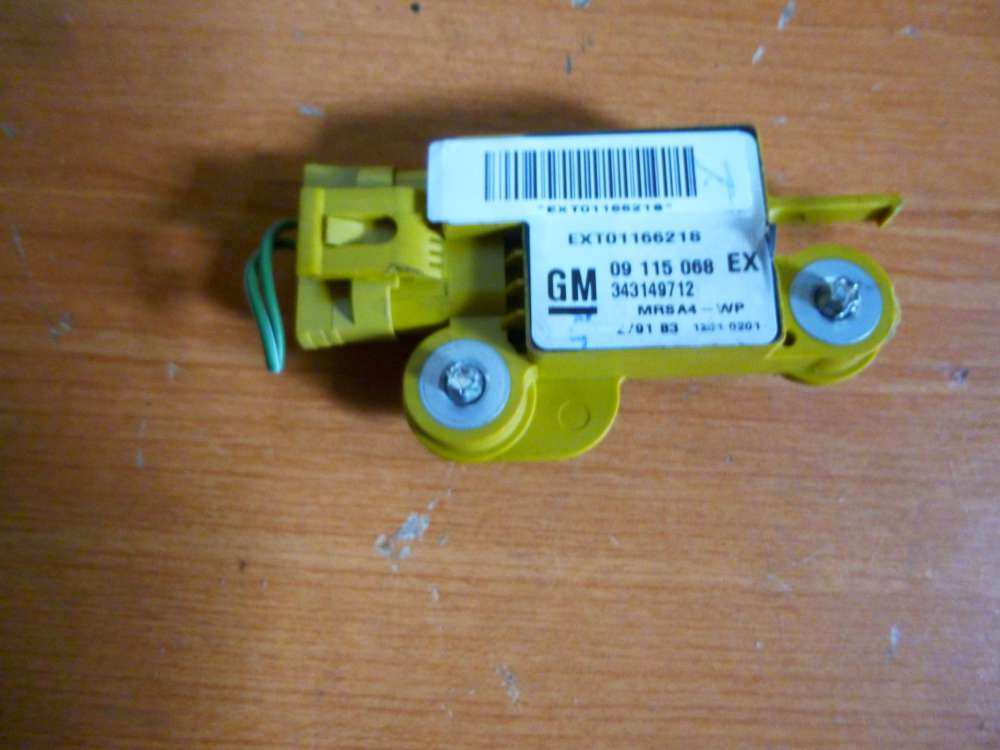 Opel Corsa C Bj 2001  Sensor Airbag Crashsensor Rechts 09115068 EX / 343149712