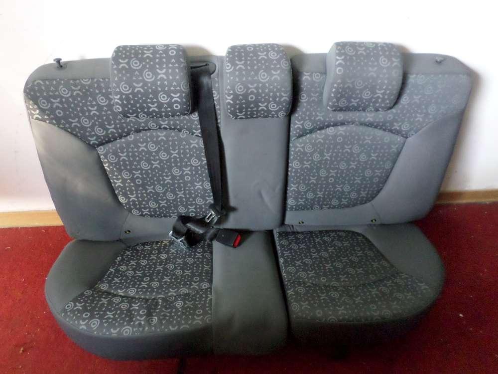 Chevrolet Matiz Bj.07 Orginal  Rücksitzbank Sitzbank Sitz hinten