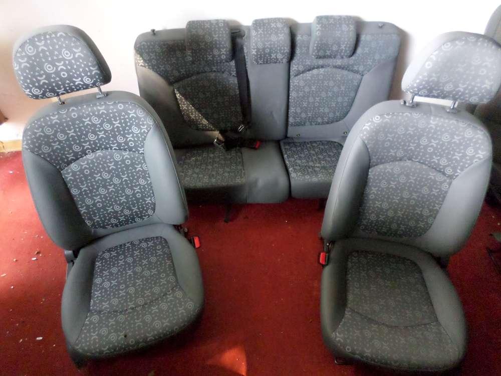 Chevrolet Matiz Bj.07 Orginal Sitze Komplett