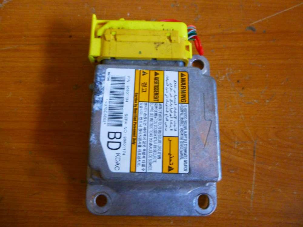 Chevrolet Matiz Bj:2007 Steuergerät Airbag 96801134 96801174 BD