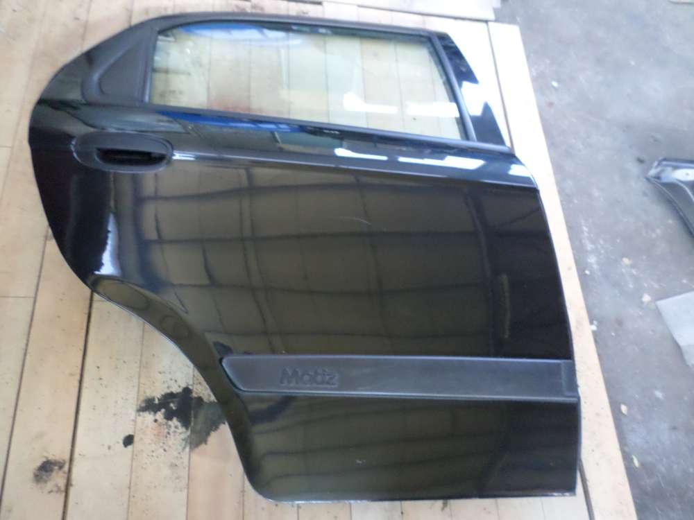 Chevrolet Matiz Bj 2007 Tür Hinten Rechts Original  Farbcode:87U Schwarz
