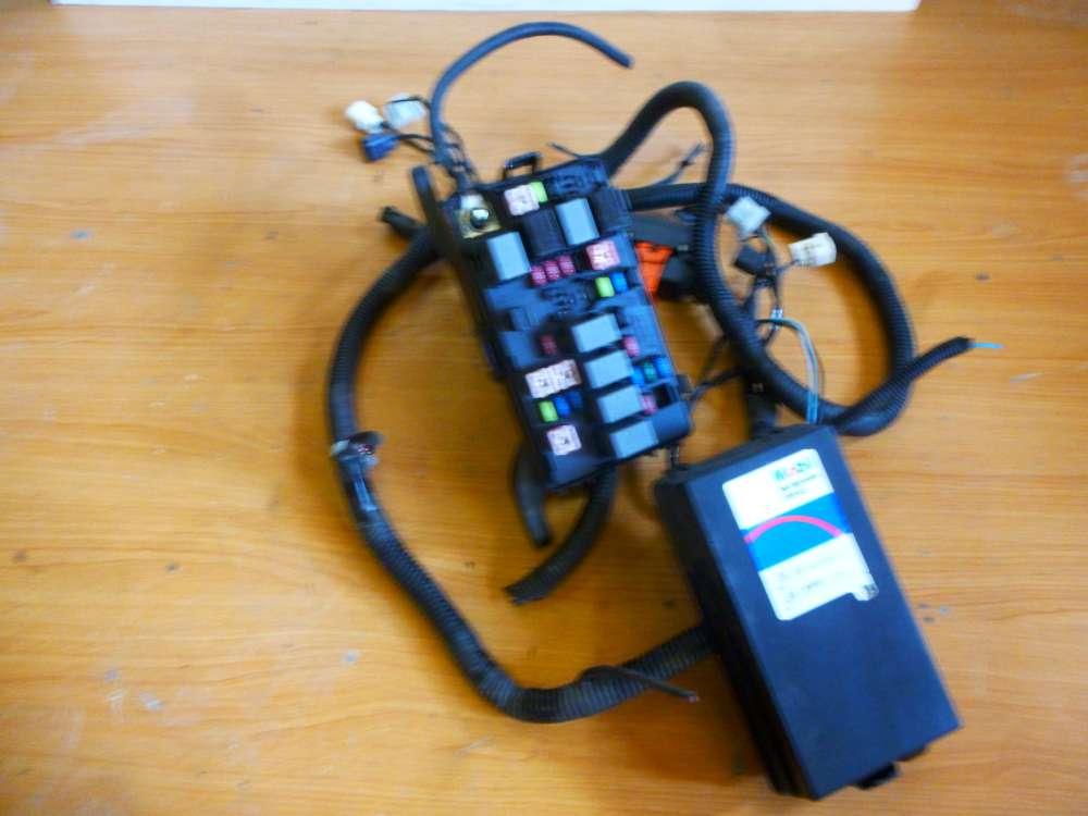 Chevrolet Matiz Bj.2007 Kabelbaum Sicherungskasten Sicherung Kabel 96665030