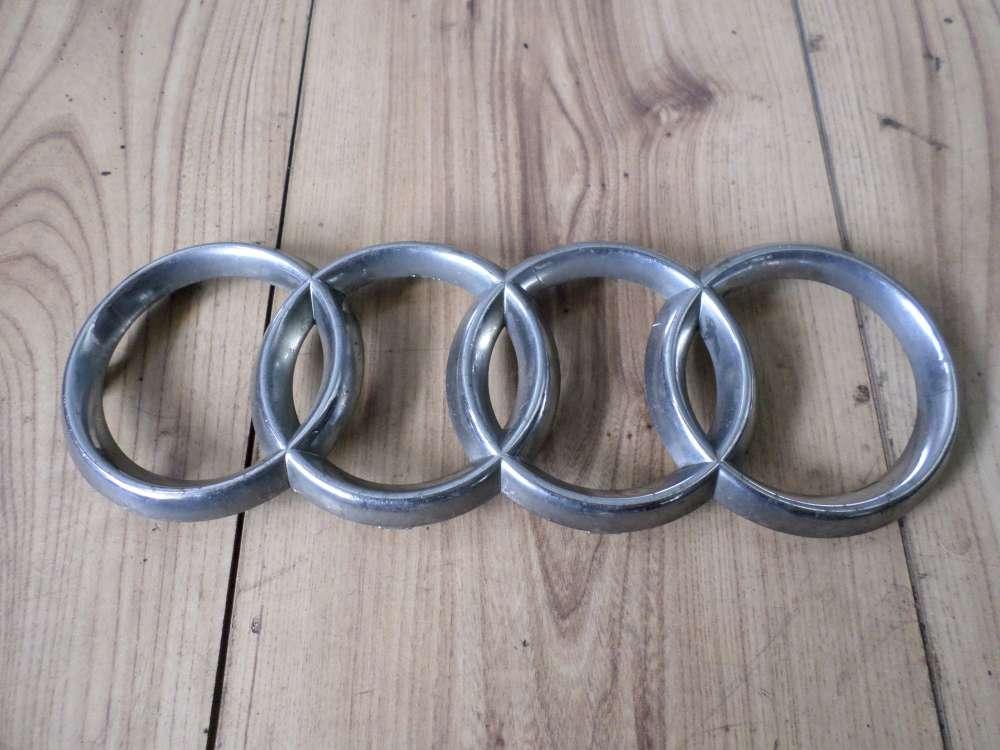 Audi A4 Bj 98 Grillemblem in Chrom Audiringe Kühleremblem Kühlergrillemblem