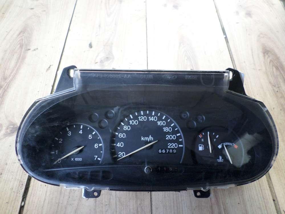 Ford  Fiesta Bj 98 Orginal Tachokombiinstrument Tacho 96FB10B885AA - 96FB10848BB