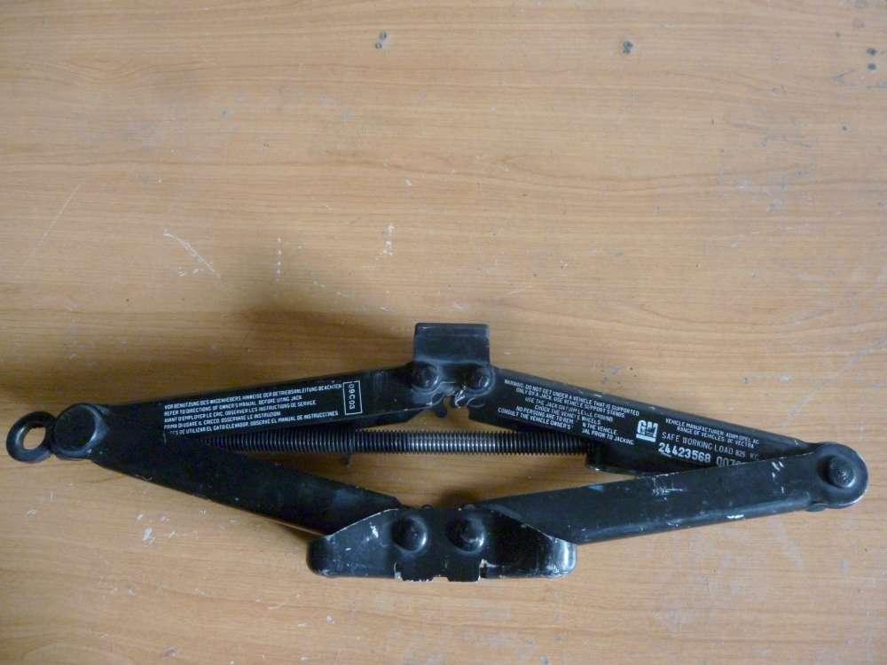 Opel Vectra C Original Wagenheber Bordwerkzeug 24423568 / 007345