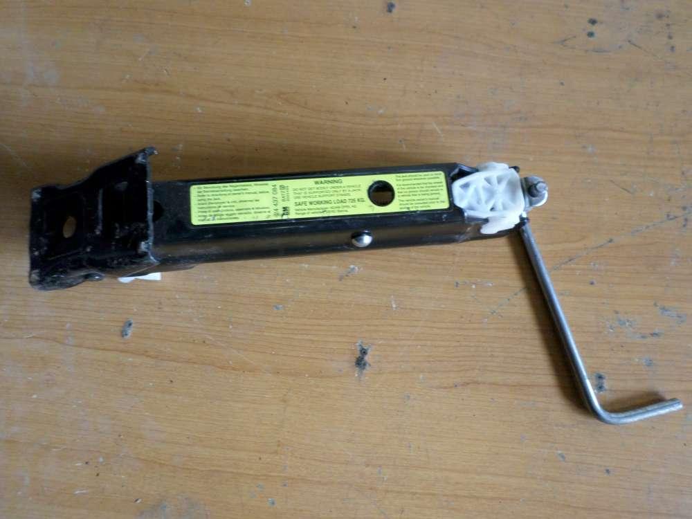 Original Opel Corsa  Bordwerkzeug Wagenheber Schlüssel Werkzeug 24 437 084