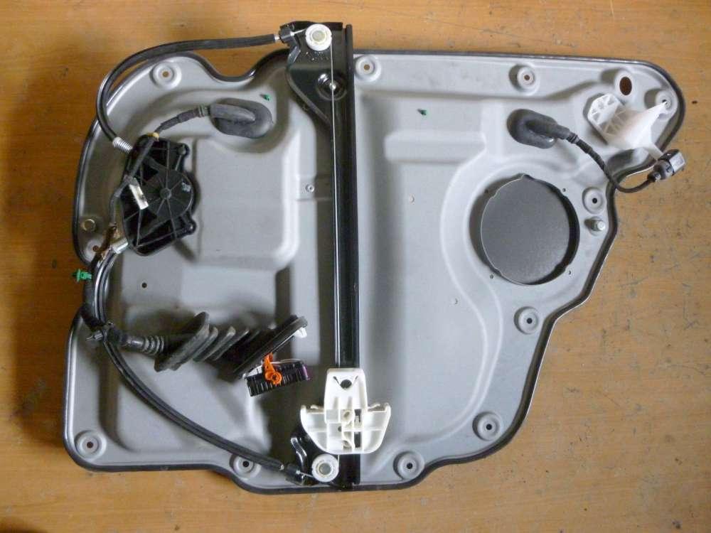 VW Touran Bj:2004 Türblech Hinten Links Fensterheber mechanisch 1T0839461L