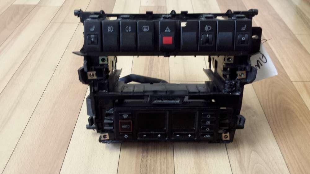 Audi A4 Bj.98 Mittelkonsole Radioschacht Klimabedienteil Steuergerät Klima 8D0857007G / 8L0820043D