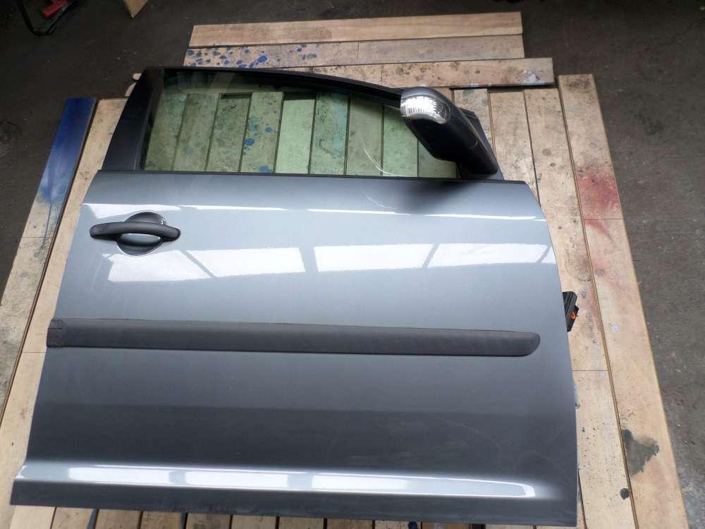 VW Touran 1,6 Bj 2004 5-türen Vorne Rechts Silber Farbcode: LD7W