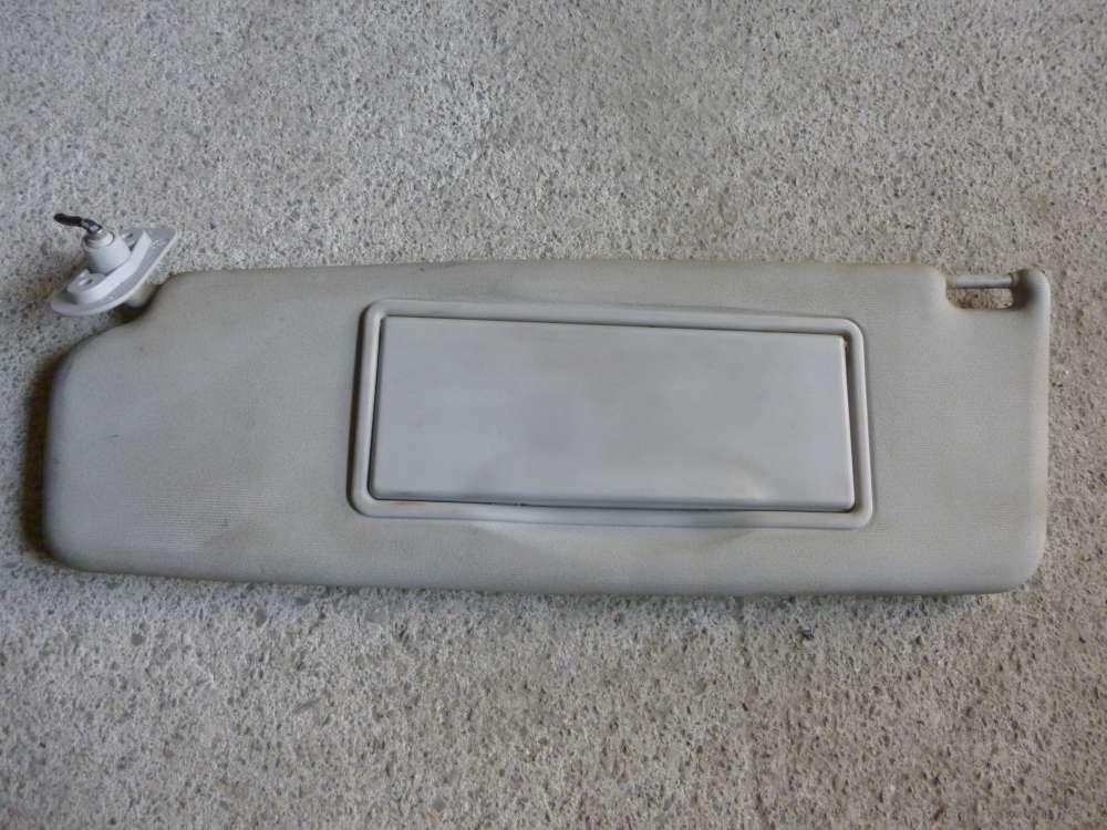 VW Passat Sonnenblende Links Fahrerseite mit Spiegel 3A0857551F
