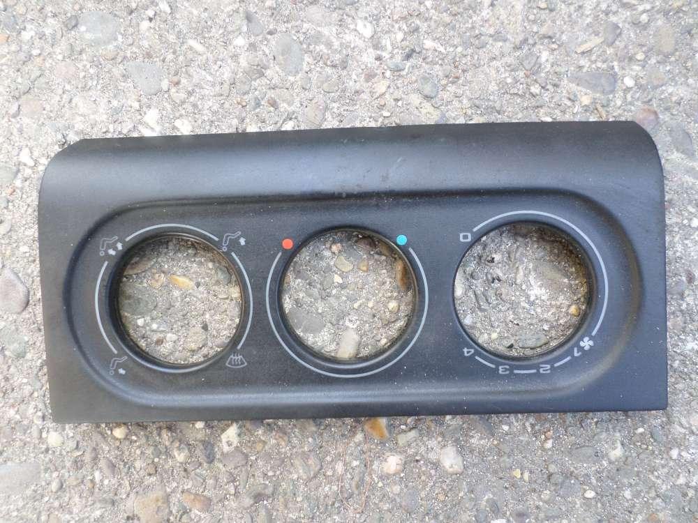 Original VW Passat Blende Verkleidung Heizungsregler ohne Klima 3A1819075