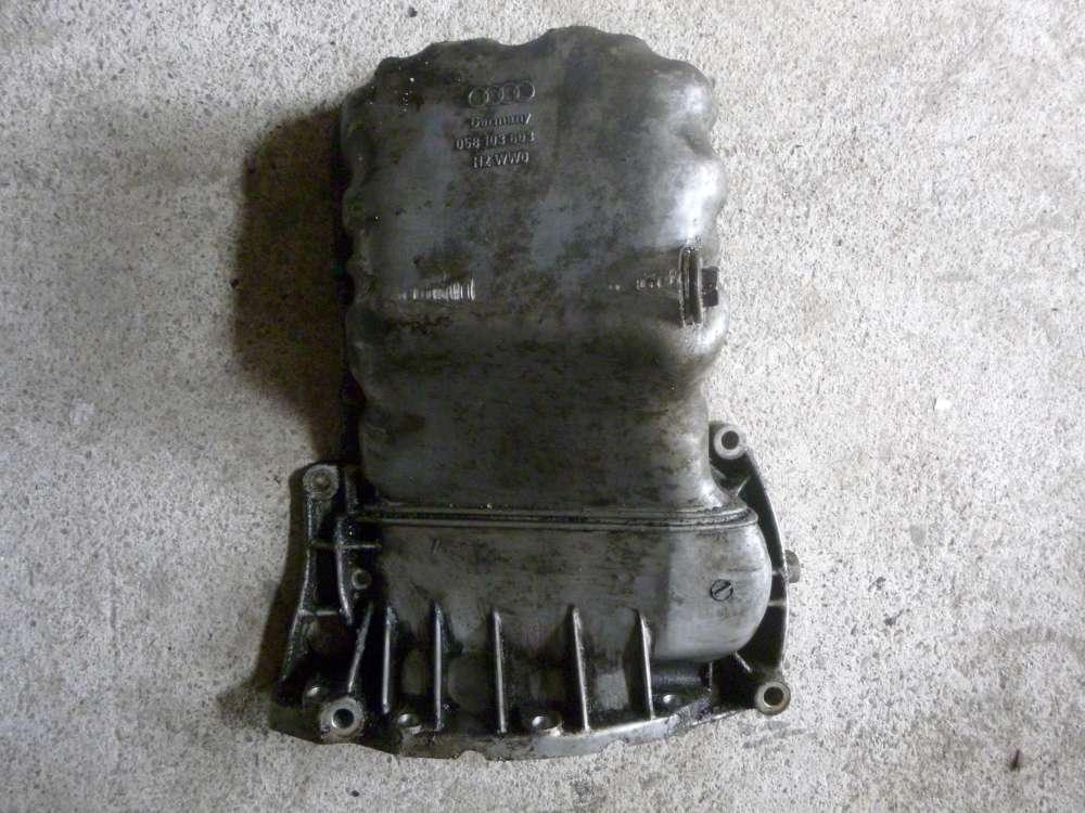 Audi A6 Bj 1997 1.8 Original Motor Ölwanne 058103603