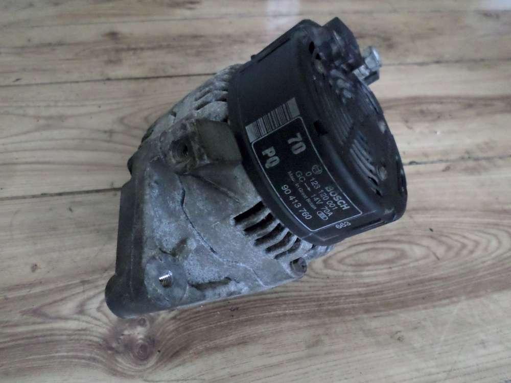 OPEL CORSA B Bj 97 Original Lichtmaschine 90413760 Bosch 0123120001