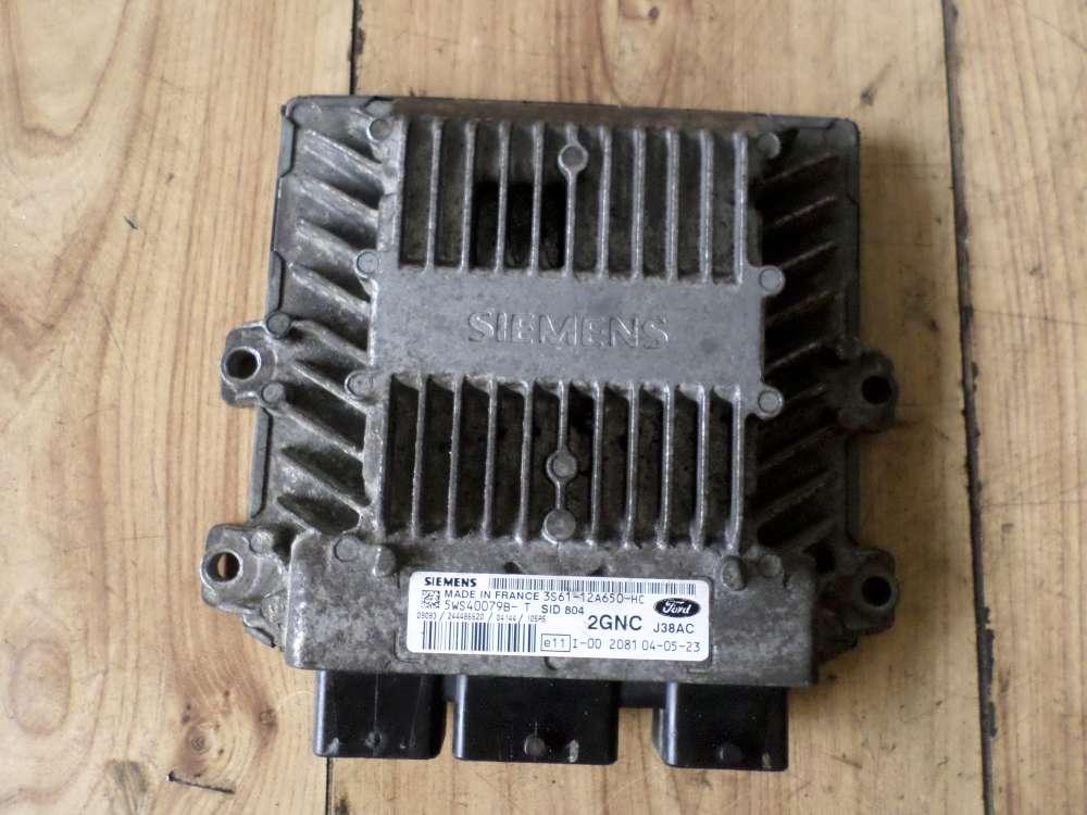 Ford Fusion Bj.2004 Motorsteuergerät Steuergerät 3S6112A650HC