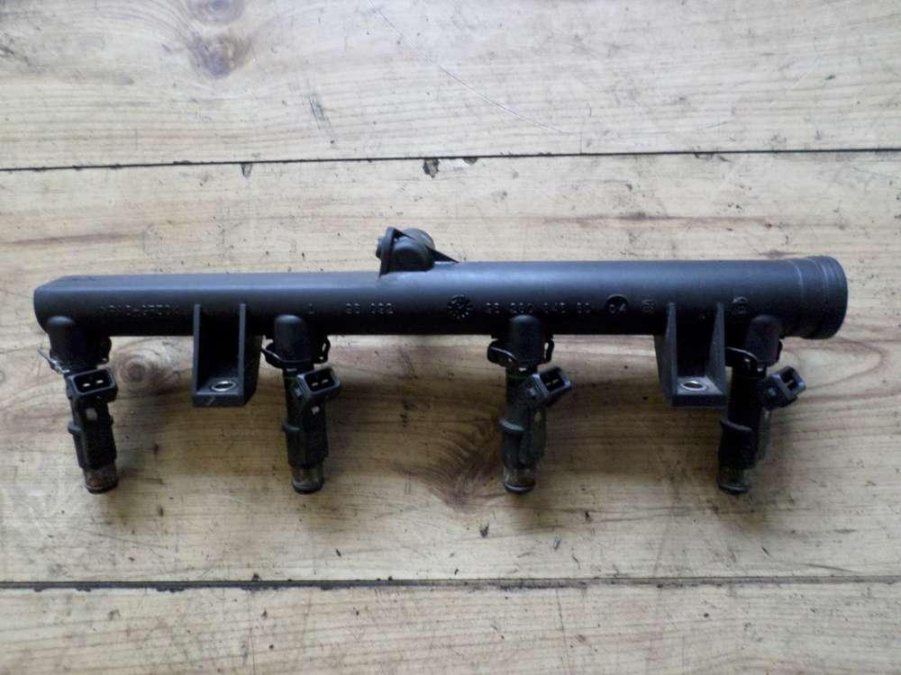Original Citroen Xsara Picasso Kraftstoffverteiler Einspritzleiste Düsen 9628084680