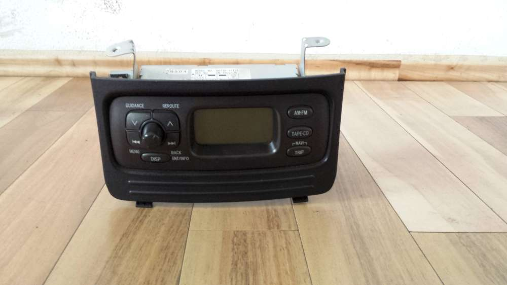 Toyota Yaris Verso Bj.2001 Display Radio Bordcomputer 86110-52121