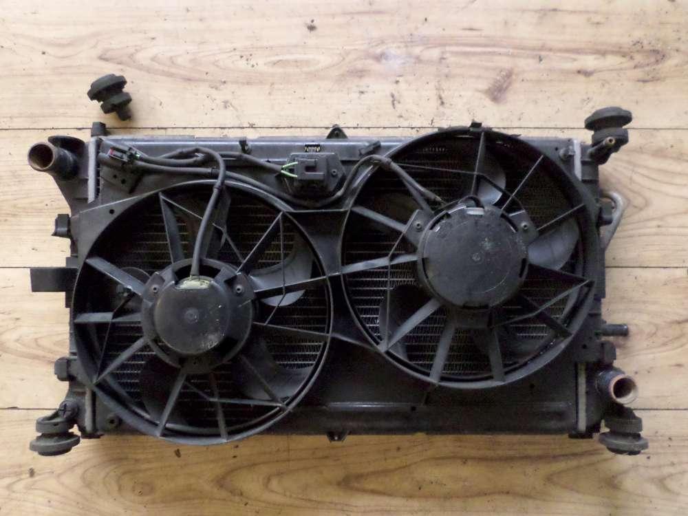 Original Ford Focus Wasserkühler Kombi Kondensator Ventilator Bosch 98AB8C607 98AB8005DE