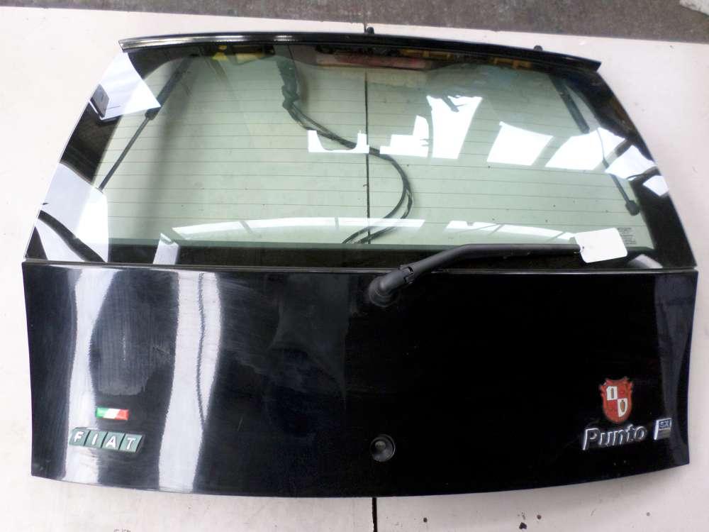 Fiat Punto 188 Bj 2001 Heckklappe Kofferraumklapp Schwarz