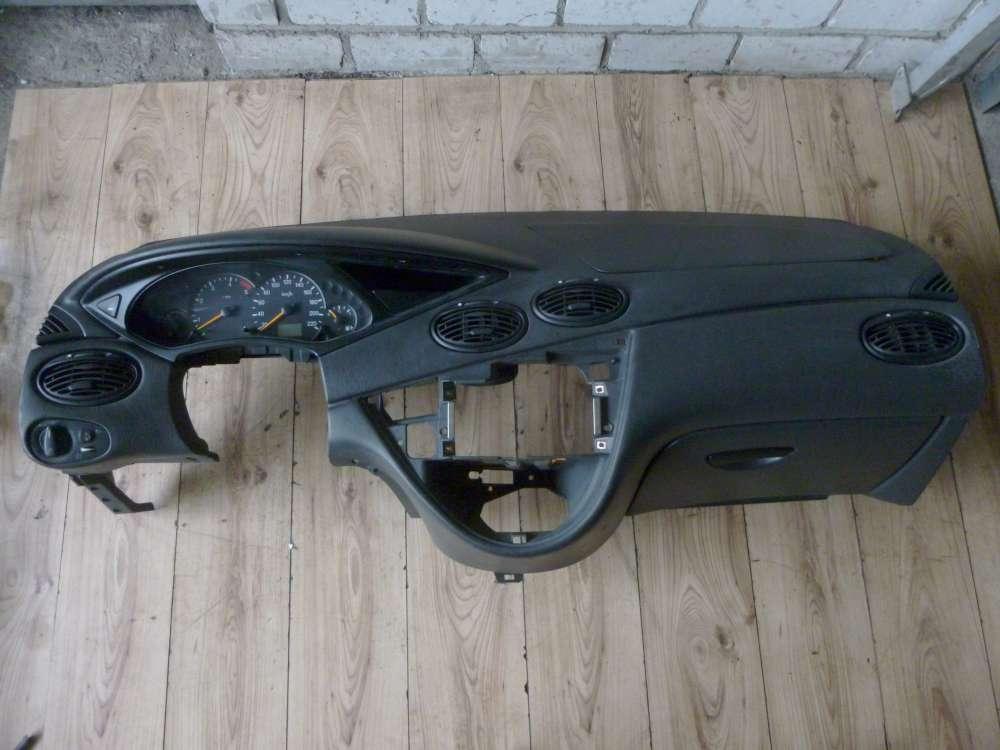 Ford Focus DNW Bj 2002 Original Armaturenbrett mit Luftschlitze Airbag 98AB-18A636