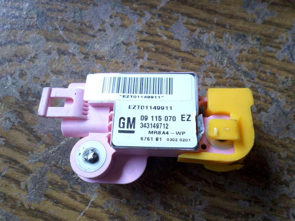 Opel Corsa C Airbag Sensor Crashsensor 09115070EZ
