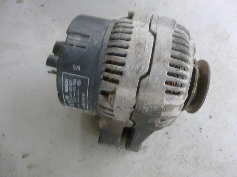Peugeot 106 Bj98 Original Lichtmaschine Bosch 0120335007 9605062980 14V 70A