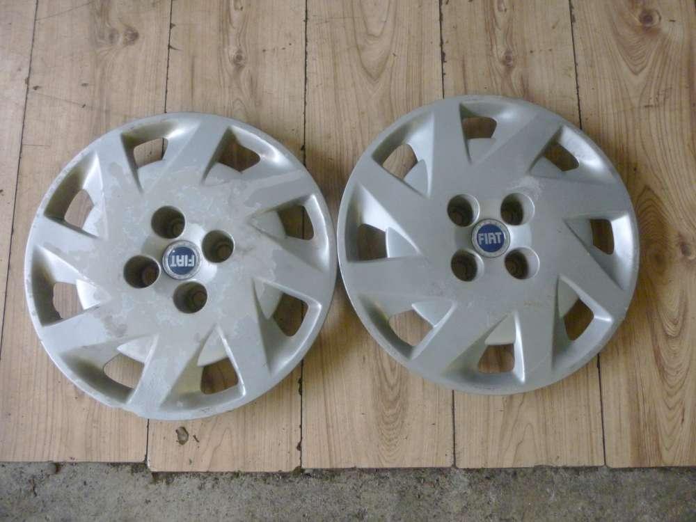 Original 2x Fiat Punto Bj 2001-2002 Radkappe Radzierblende Zoll 46760304
