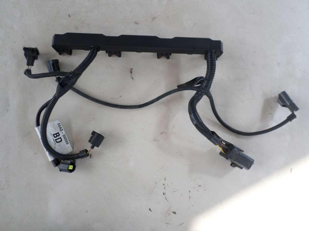 Ford Focus  1,8  Bj. 2001 Einspritzanlage 98AG-14A390-DB