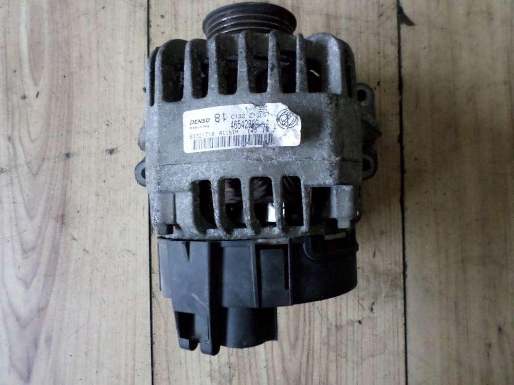 Original Fiat Punto Bj 2001 Lichtmaschine Generator Benziner 46542889