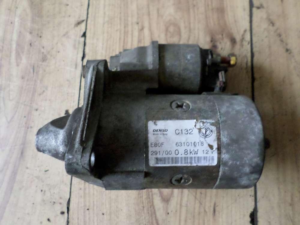 Original Fiat Punto Bj 2001 Anlasser 63101018